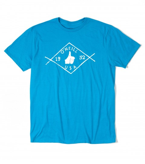 Surf O'Neill Mayfield Tee.  50% Cotton / 50% Poly.  30 singles modern fit heather tee with softhand screenprint. - $16.99