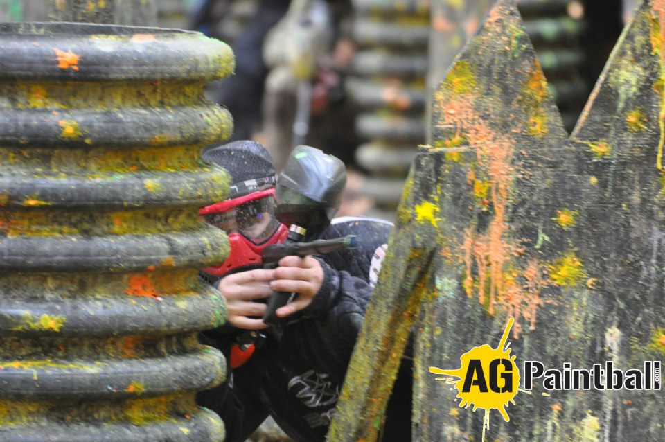 Entertainment Kyle Cardaropoli at AG Paintball's Fall Brawl 2012