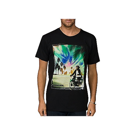 Surf On Sale. Billabong Men's Monkey Around Tee DECENT FEATURES of the Billabong Men's Monkey Around Tee Overdyed slim fit tee with silicone wash Softhand front and back screen print Pvc-free heat sealed neck label The SPECS 100% Cotton - $18.99
