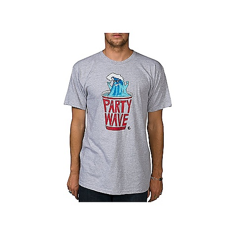 Surf On Sale. Billabong Men's Party Wave Tee DECENT FEATURES of the Billabong Men's Party Wave Tee Regular fit tee with a softhand front screen print and pvc-free heat sealed neck label The SPECS 100% organic combed ringspun cotton - $14.99