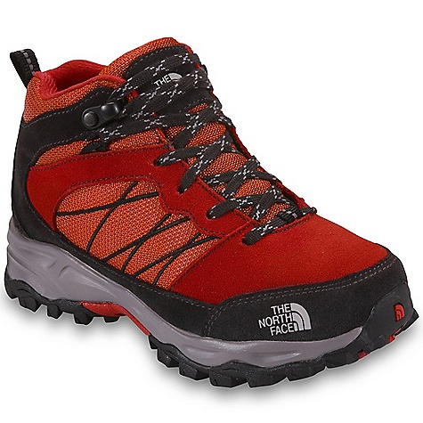 Camp and Hike Free Shipping. The North Face Girls' Dehyke Boot DECENT FEATURES of The North Face Girls' Dehyke Boot Upper: HydroSeal waterproof membrane Split suede upper Abrasion-resistant and breathable textile mesh Gusseted tongue provides protection from unwanted debris Protective toe cap and heel mudguards Bottom: Injection-molded EVA midsole Ultratac rubber outsole The SPECS Last: TNF-005B-H Approx Weight: 1/2 pair: 9.6 oz / 274 g, pair: 1 lb 3 oz / 548 g This product can only be shipped within the United States. Please don't hate us. - $74.95