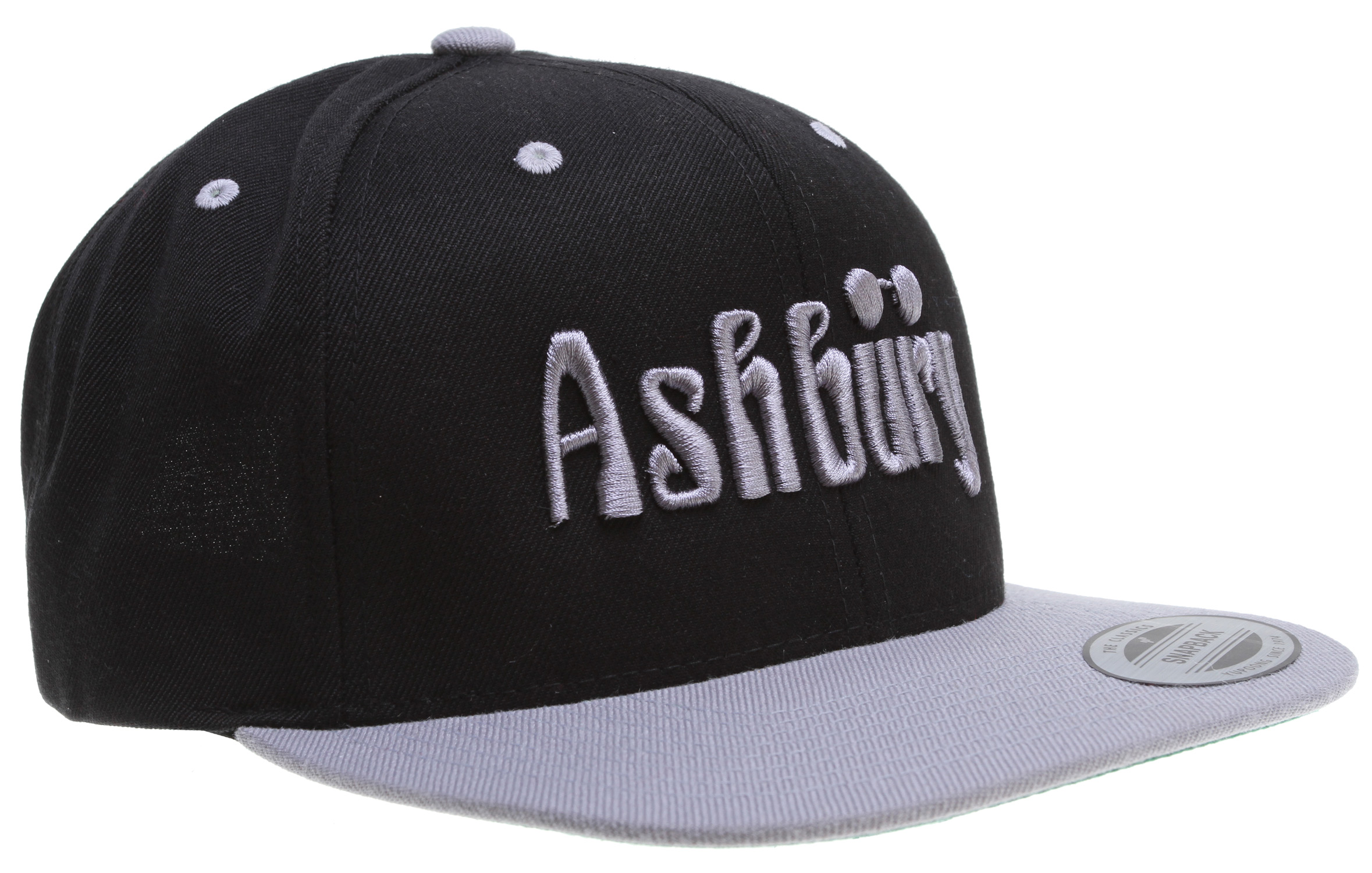 Key Features of the Ashbury Og Cap: 6 Panel Adjustable Snapback 100% Wool / Embroidered Logo - $17.95