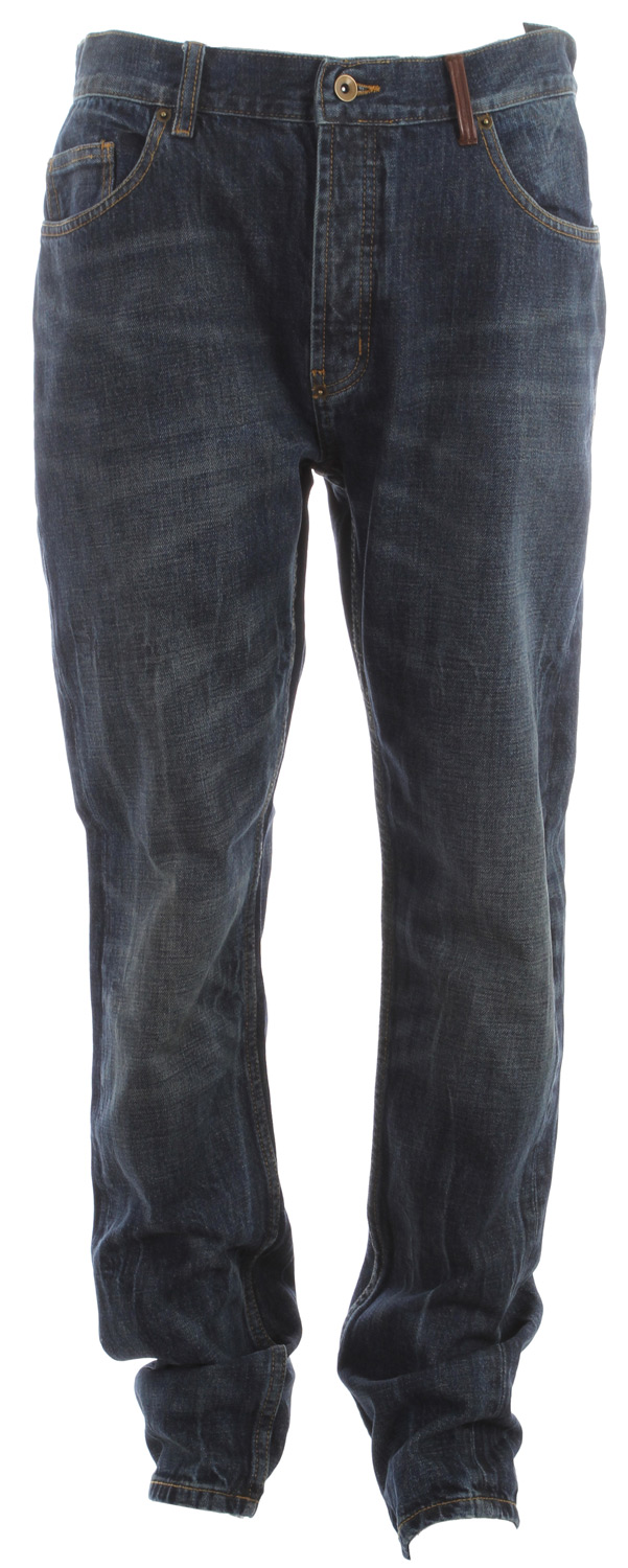 The Holden Denim Standard Fit has a modern cut with a slightly tapered leg and comfortable waist and thigh.Key Features of theHolden Denim Standard Fit Jeans: WATERPROOF RATING DWR POCKETS 2 waist, 2 back - $59.95
