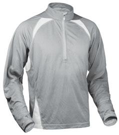 Fitness Bamboo fabric is soft as silk, antimicrobial to aid in odor control, moisture management wicking, reflective center front zipper, UV Ray blocking