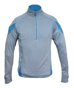 Fitness Natural fiber Bamboo that is soft as silk, StormwiK, StormProtect & antimicrobial performance, reflective detailing, woven with Polyester for enhanced durability and performance