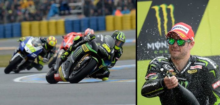 Motorsports Heroes get remembered, legends never die. Cal crutchlow heads to the podium of the Monster Energy Grand Prix de France for his best ever MotoGP result.
