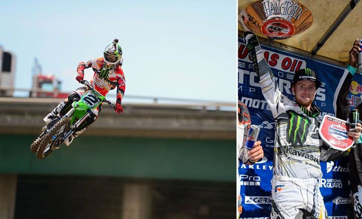 Motorsports Ryan Villopoto continues his rampage and sweeps Hangtown Pro Motocross Season Opener! http://monsterne.ws/17PIFiL