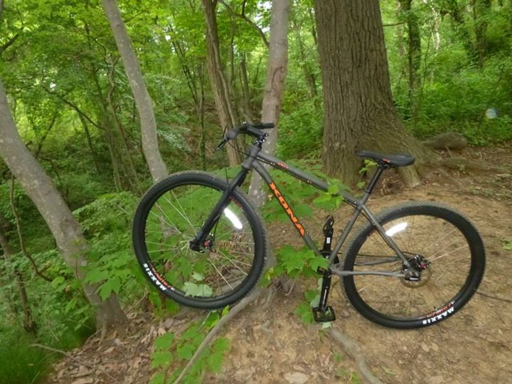 MTB the 2013 kona unit: such a fun ride! Being a rigid 29er with reliable avid BB7 brakes, there's nothing to break.