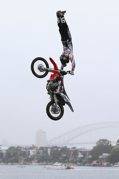 Motorsports Todd Potter at the Red Bull X-Fighters in Sydney.