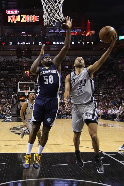 Sports Spurs blow out Grizzlies in Game 1 win, 105-83.   LIKE if Tony Parker can lead San Antonio to the Finals.