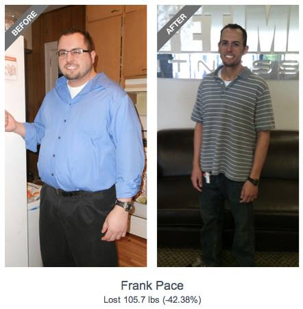 Fitness Congrats to Frank Pace our 2013 Male Spring 90-Day Challenge winner! Don't forget to vote by 9pm tomorrow on your favorite transformation challenge winner: http://bit.ly/12LX5uH