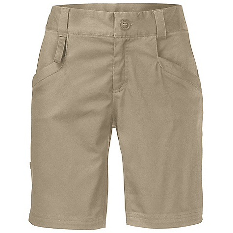 Free Shipping. The North Face Women's Hennepin Short DECENT FEATURES of The North Face Women's Hennepin Short Secure back stash pocket Roll-up leg U-lock belt holster Reflective logos Key loop/hook at front pocket The SPECS Average Weight: 8.11 oz / 230 g Inseam: short: 8.5in. 185 g/m2 (5.45 oz/yd2) 97% cotton, 3% elastane stretch twill This product can only be shipped within the United States. Please don't hate us. - $64.95