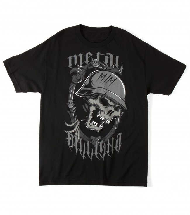 Motorsports Metal Mulisha Mens Tee.  100% Cotton.  Screenprint. - $12.99