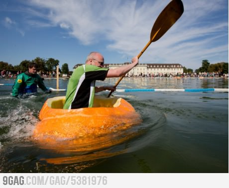 Wake Pumpkin rafting. Um, yes?