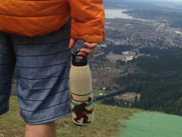 Camp and Hike Take a hike with the Freaker bottle insulator