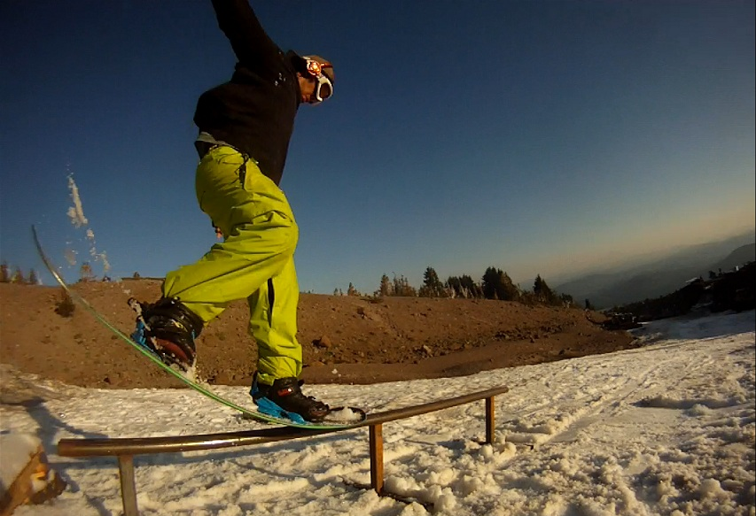 Snowboard Chris Santos Nose Press