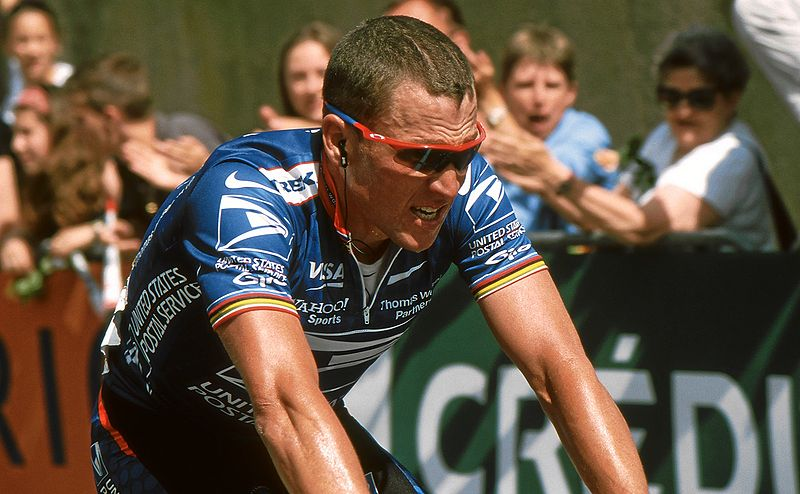 Fitness Lance Armstrong and a history of doping.  Article by Courtney Baird
