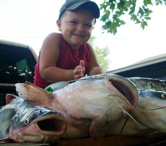 Fishing Take a Kid Fishing: Why Catfish are Perfect for First-Time Anglers.  Article by David A. Brown on May 16, 2013