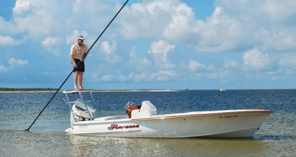 Fishing Choosing the Right Push Pole - Pick out the push pole to match your boat and fishing style.