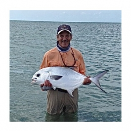 Flyfishing One Memorable Permit Catch.  Article by John Frazier posted May 17, 2013