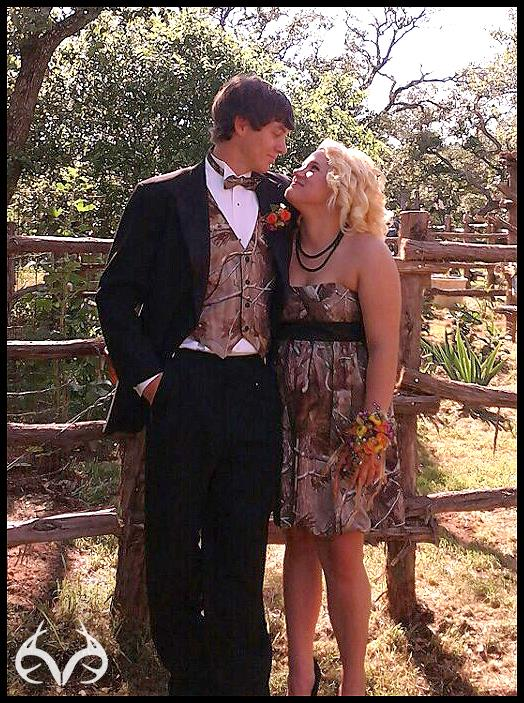 Hunting Submitted by Tracey Harnish. Picture of daughter Kaitlen and date Austin Free.