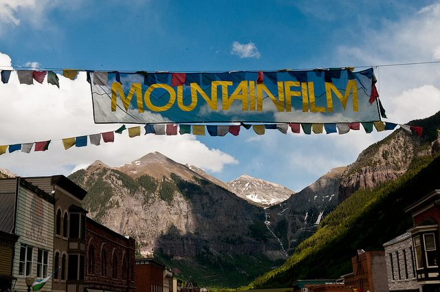 Entertainment Mountainfilm goes off this weekend in Telluride and we'll be there. Check out the full roster of films here: