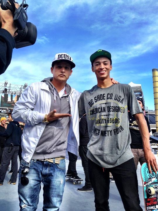 Skateboard Congrats to DC Pro Skateboarder Nyjah Huston on winning gold at X Games Barcelona over the weekend. Check out