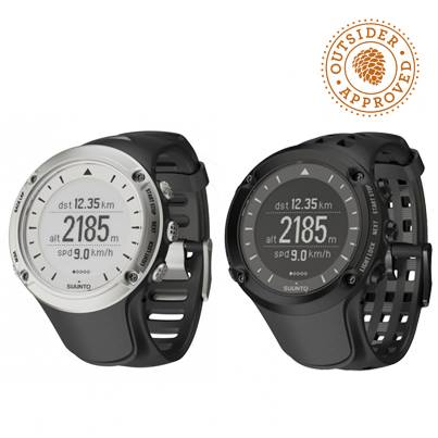 Fitness We just reduced the price of the Suunto Ambit from $500 to $349! This GPS watch features barometric altimeter, waypoint navigation, and lets you create points of interest. Switch it to training mode and the watch tracks speed, distance, and heart rate.