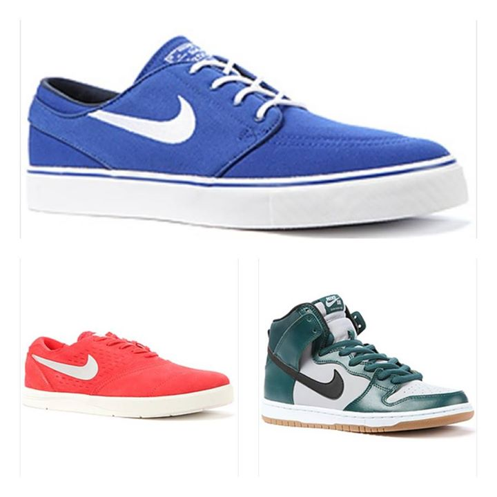 Skateboard We just received a new batch of Nike SB - definitely something for everyone in this shipment.