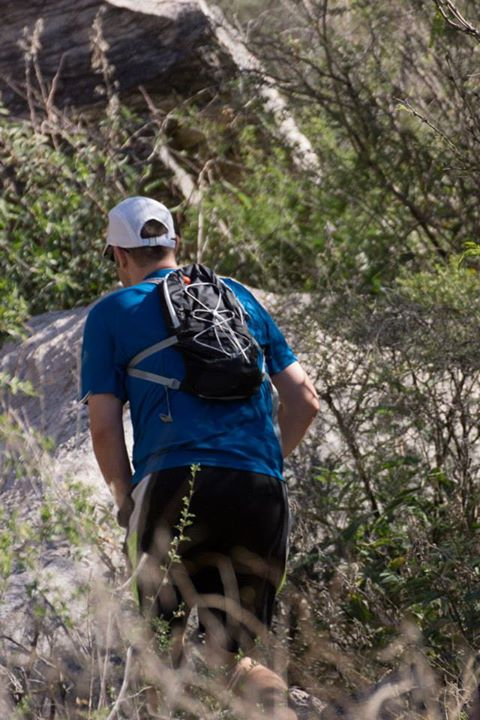 Camp and Hike The Mountain Hardwear Fluid 6 is a great 'do everything' small pack - enough space to pack a surprising amount of gear but a vest style suspension that certainly works for some running - if you are moving fast this might be all you need! http://www.summit