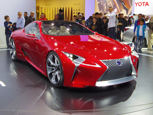 Auto and Cycle Concept car Lexus LF-LT