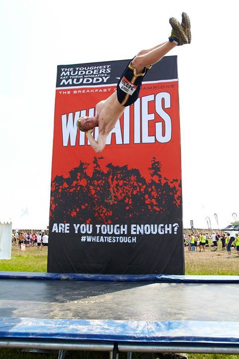 Fitness The Windy City got muddy. 