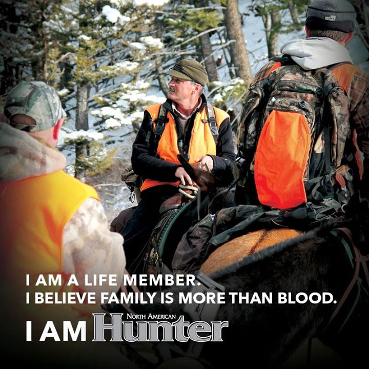 Hunting Shout out to all North American Hunting Club Life Members!