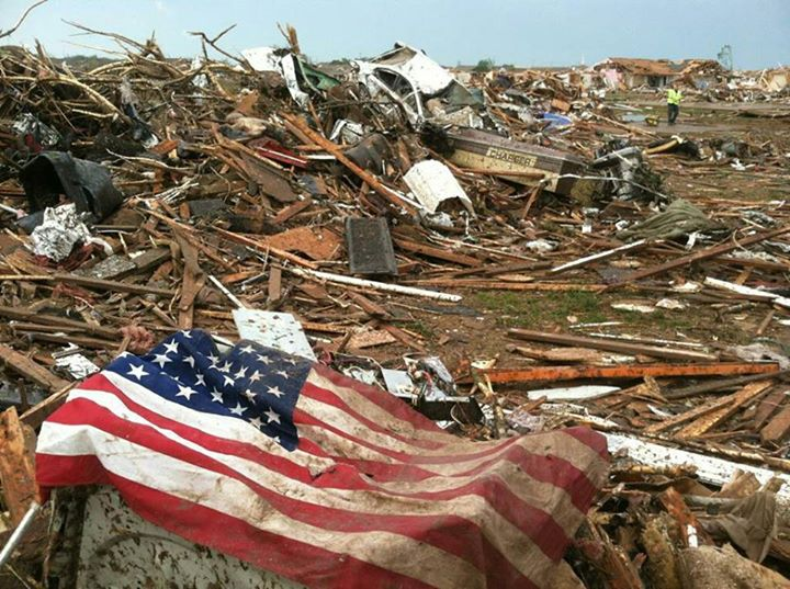 Guns and Military Today's deadly tornado in Oklahoma is a tough reminder that we must always be ready for severe weather. Right now, the Navy is conducting its annual hurricane exercise. Learn how we're preparing and what you need to do: http://ow.ly/le2rm  Please keep tho