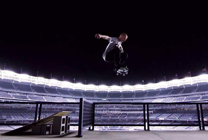 Skateboard Chaz Ortiz and the ZOO YORK crew take over Yankee Stadium.  Sick skating, ridiculous venue...