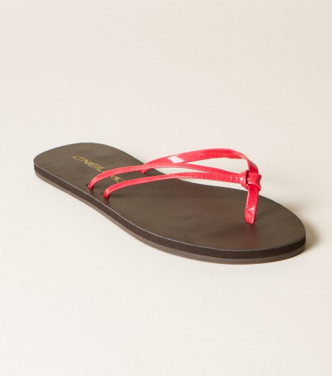 Surf O'Neill Duet Sandals.  Faux leather flip flop; knotted strap detail; EVA midsole; custom rubber outsole. - $11.99