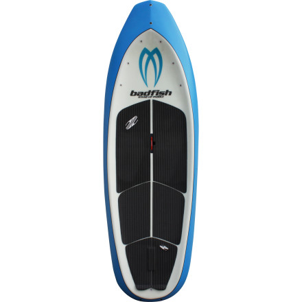 Kayak and Canoe SUP enthusiasts have toyed with the idea of running rivers for years, and now that Badfish has designed the MVP Stand-Up Paddleboard, those ideas are becoming realities. The combination of river-surfing tech, a kayak-style chine, and a high-volume nose allows the MVP to remain stable and punch holes in chaotic river currents as well as rip the choicest play waves. Not to mention it's available in two lengths to suit a wide range of paddler sizes, pursuits, and river types. - $887.96