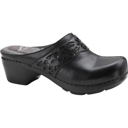 With your busy lifestyle, you barely have enough time for anything let alone finding matching shoes for your outfits, so go with the Western-styled Dansko Womens Shyanne Clog that pairs well with anything. High-quality, full-grain leather, classic style, and cut-out, studded detailing help the Shayanne finish off any outfit with style. - $91.96