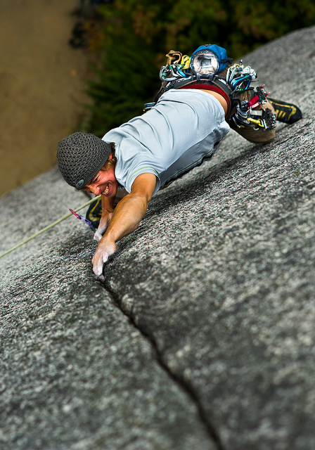 Climbing Grin'n Bear It!