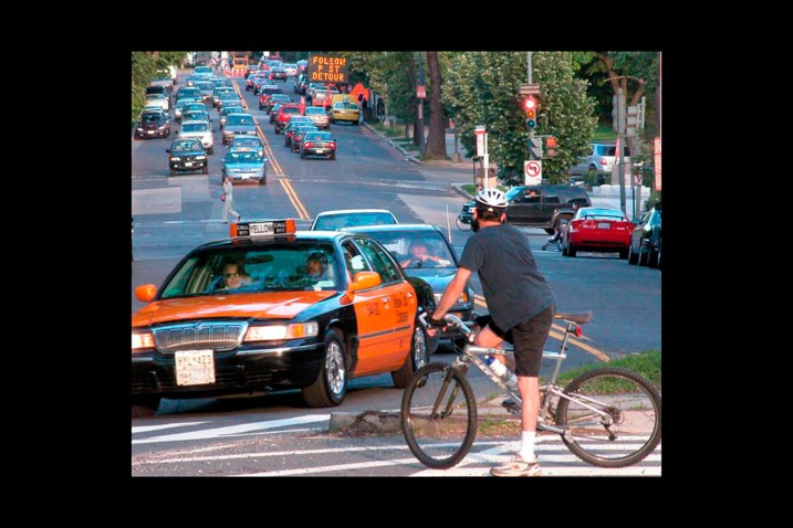 Auto and Cycle Coexisting With Bicyclists: 10 Rules for Drivers.