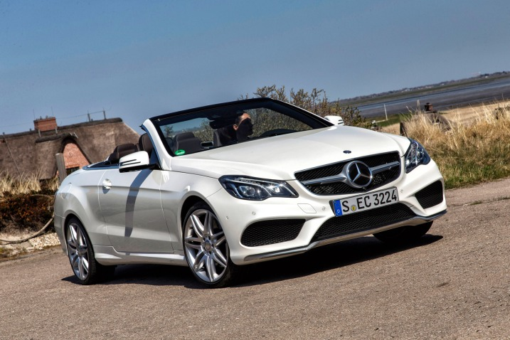 Auto and Cycle 2014 Mercedes-Benz E550 Cabriolet First Drive - More Safety, Style and Serenity.  Article by Michael Taylor posted May 17, 2013