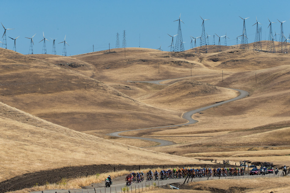 Fitness During stage seven of the Amgen Tour of California the field climbed Patterson Pass