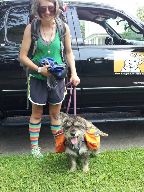 "Entertainment Spreading Ruffwear ""Trail Magic"" at the A-T Trail Days 