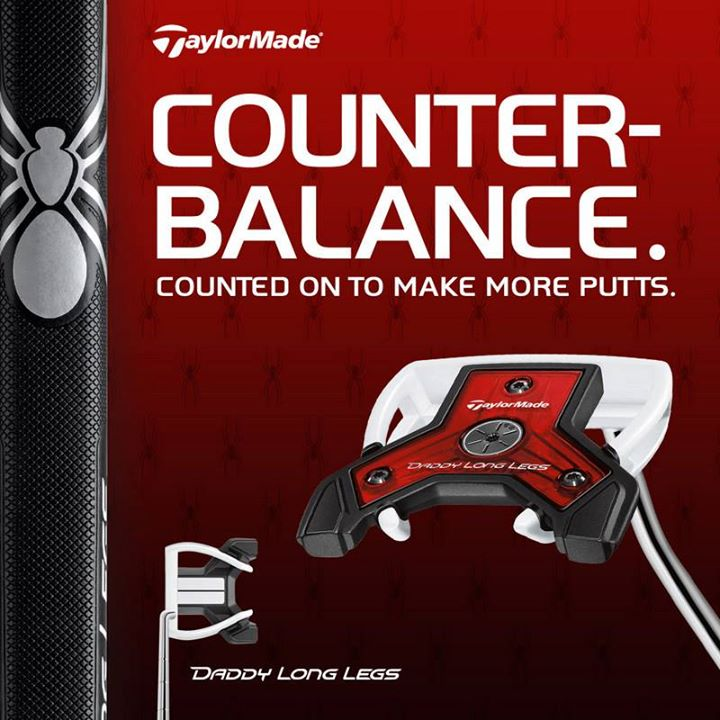 Golf No more anchoring? No problem. Our new counterbalance Daddy Long Legs is a great alternative to anchoring and 60% more stable than a traditional putter. http://bit.ly/16Mc1ON