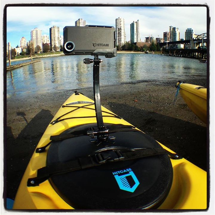 Kayak and Canoe HITCASE Fan-to-Sea: Who else wishes they were about to hit the water right now instead of their desk?