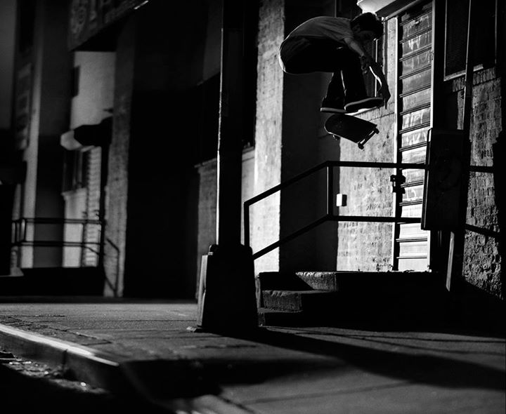 Skateboard Mark suciu's on fire with mad clips, photos, articles and heelflips likes these from the NYC edit. 