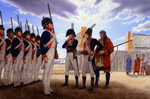 Guns and Military Today in 1804, the Army's Corps of Discovery, under Capt. Meriwether Lewis and Lt. William Clark, began their voyage up the Missouri River to the Pacific coast (better known as the Lewis and Clark Expedition).