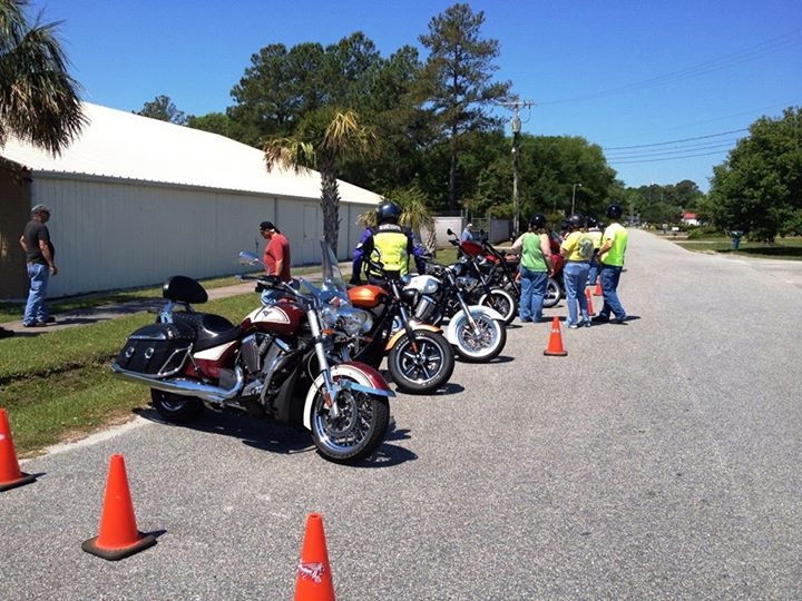 Auto and Cycle Demos during Myrtle Beach Bike Week 2013