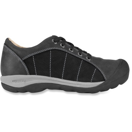 MTB Looking for street-smart bike shoes? With their classic oxford lace-up design and cleat compatibility, the Keen Presidio Pedal women's bike shoes are your answer. - $8.73