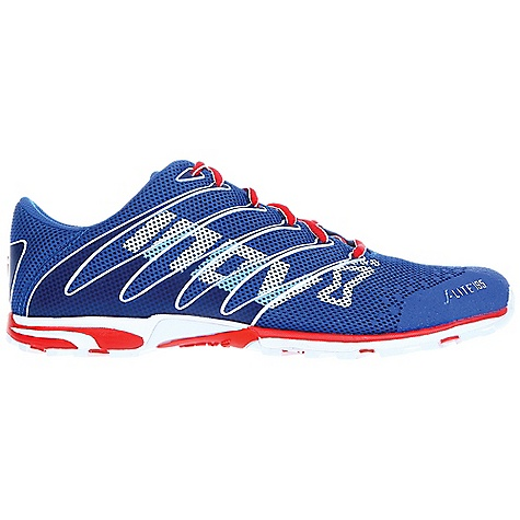 Camp and Hike Free Shipping. Inov 8 F-Lite 195 Shoe DECENT FEATURES of the Inov 8 F-Lite 195 Shoe Weight: 6.9 oz / 195 g Fit: Performance Upper: Synthetic, TPU Lining: Mesh Footbed: 3mm Midsole: Injected EVA Shoc-Zone: 1 Differential: 3mm Sole: F-Lite Compound: Sticky - $119.95